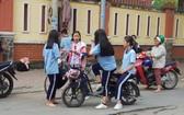 當前的電動自行車駕駛者主要是中學生。