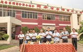 同奈省台灣商會會館修繕工程動工儀式。