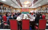 越南與非洲友好協會舉行的2018-2023年任期第三次全國代表大會現場。(圖源:俊越)