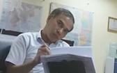 越南內陸水路局所屬計劃與投資科代科長武孟雄。(圖源:懷南)
