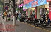 到商店購物摩托車失竊,誰來賠償?(示意圖源:互聯網)