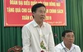 中央宣教部長武文賞在會上發表講話。(圖源:越通社)