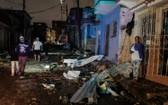 地時間1月28日,古巴哈瓦那遭龍捲風襲擊,造成電力中斷,建築物和汽車受損,目前還沒有明確的傷亡報告。(圖源:互聯網)