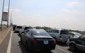 胡志明市-隆城-油曳高速公路連日擁堵。(圖源:勛高)