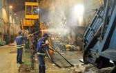 市都市環境一成員有限責任公司的生活垃圾處理環節。(圖源:互聯網)