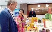 本市企業向合作夥伴推介ITPC的出口商品。