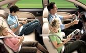 今起嚴查司機乘客不繫安全帶行為。(示意圖源:互聯網)