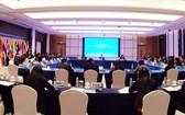 中國-東盟各國高官相聚南寧討論第十六屆東博會籌備工作。