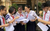 麥劍雄學校有6名華人學生參加九年級優秀生會考。
