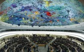 全球47個國家構成的聯合國人權理事會22日通過了由歐盟(EU)提交的強烈譴責朝鮮人權狀況的決議案。(圖源:路透社)