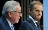 歐盟(EU)22日在布魯塞爾召開的首腦會議上,決定以經濟領域為中心推進修改對華戰略。(圖源:共同社)