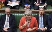 特蕾莎·梅在國會就脫歐議題的表決中受挫。(圖源:AP)