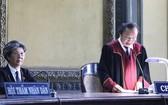 審判長當庭宣告離婚判決。(圖源:福巡)
