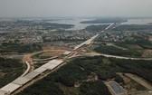 濱瀝-隆城高速公路的施工進度已完成71.37%總建裝價值,預計今年底將投入使用20公里。(圖源:光定)