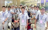 今年3月份,越南勞工出國就業人數達近1萬4000人。(示意圖源:互聯網)