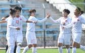 越南女隊以2比0勝約旦女隊。(圖源:互聯網)