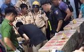 市公安廳上月查獲895塊海洛因。