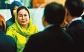 大馬前總理妻子羅斯瑪。(圖源:AFP)