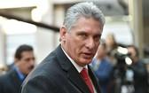 古巴國務委員會主席兼部長會議主席迪亞斯-卡內爾。(圖源:CNN)
