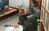 保險箱被撬開現場。(示意圖源:互聯網)