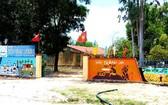 事發的T.X小學校。(圖源:俊傑)
