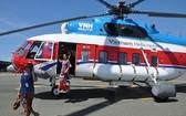 頭頓市-崑崙島直升機航線昨(23)日開通,將於本月26日實現首航。(圖源:紅深)