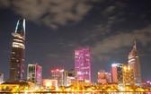 胡志明市夜景。(圖源:互聯網)