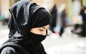 頭戴面紗的穆斯林女性。(圖源:互聯網)
