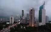 印尼首都雅加達商業區。(圖源:AP)