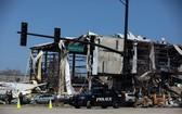 廠房嚴重受損。(圖源:AP)