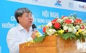 市交通安全委員會副主任阮玉祥在會議上發言。(圖源:杜鸞)