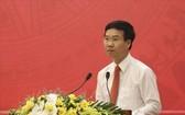 中央宣教部長武文賞在聚會上致詞。(圖源:文南)