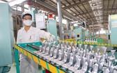 位於永福省的越南漢達公司生產車間一瞥。
