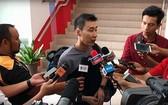 李宗偉接受媒體訪問。(圖源:互聯網)