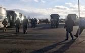 在紅十字國際委員會的幫助下,烏克蘭衝突雙方交換了300餘名戰俘。(圖源: 紅十字國際委員會)