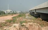 濱瀝-隆成高速公路若干路段遇場地清拆羈絆。