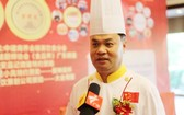 參加此次活動的順德十大名廚何錦標。