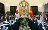 第七次越-日戰略合作夥伴對話會議現場。(圖源:外交部)