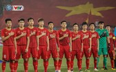 圖為我國U23男足隊。(圖源:VTV)