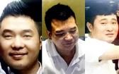 被扣押的3名賭博團夥頭目。(圖源:Zing)