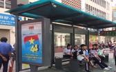 本市新型巴士站日前正式投入使用。(圖源:市公共交通管理中心)