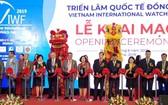 圖為2019年越南鐘錶國際展覽會(VIWF)開幕式。