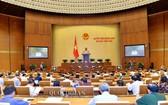 第十四屆國會第七次會議進入第14天議程。(圖源:Quochoi.vn)
