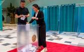 2019年哈薩克斯坦總統選舉投票於當地時間9日上午7點正式開始開始。(圖源:Sputnik)