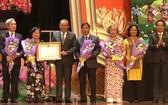 當天,韋阿英基金會獲得國家主席授予一等勞動勳章。