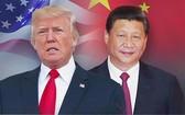 中國國家主席習近平(右)和美國總統特朗普。(圖源:互聯網)