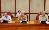 總書記、國家主席阮富仲在會上致詞。(圖源:越通社)
