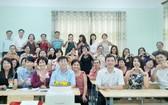 參與 2019年越南華語教師暑期培訓班的老師們合影留念。