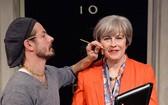 英國倫敦杜莎夫人蠟像館在英國首相特蕾莎‧梅準備卸任前將其蠟像從永久展品中撤下。(圖源:互聯網)