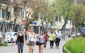 越南吸引許多國際遊客前來觀光。(圖源:藍青)